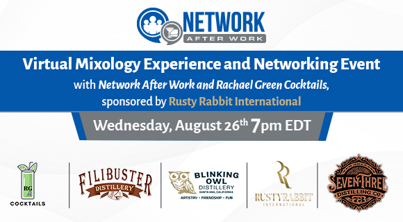 Virtual Mixology Experience and Networking Event