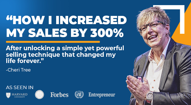 How to increase your sales by up to 300%